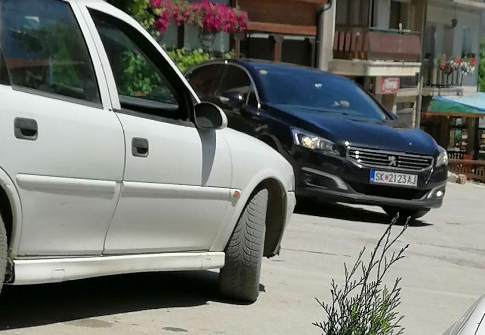 Шекеринска во Вевчани со службено возило на МО во функција на изборни и политички цели (ФОТО)