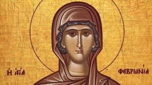 Денеска еПреподобна маченичка Теодосија