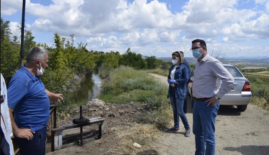 Трипуновски во Свети Николе, ги сослуша проблемите на земјоделците