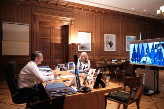 Мицотакис и Мишел разговарале за односите меѓу Турција и ЕУ