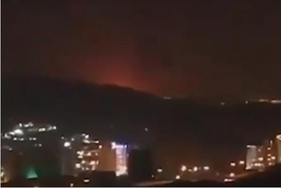 Експлозија во близина на воена база во Техеран