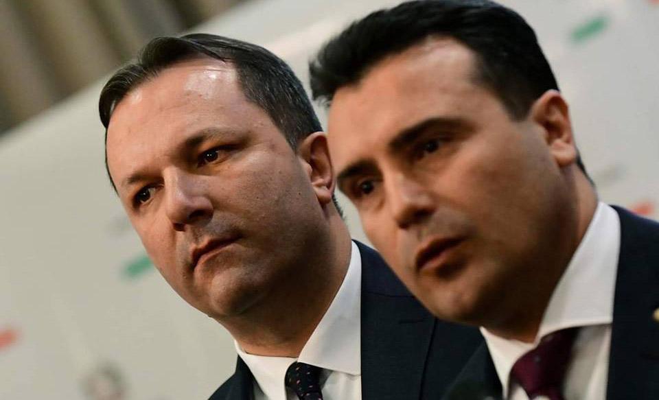 """ВМРО-ДПМНЕ: Спасовски и Заев се на врвот на аферата """"Мафија"""", тие овозможиле логистика за нарко – босови, одговорноста ја префрлија на обични службеници"""