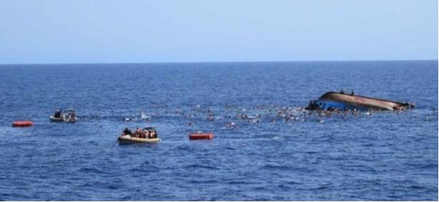 Загинаа шестмина мигранти, меѓу преживеаните бремена жена која се породила во чамец