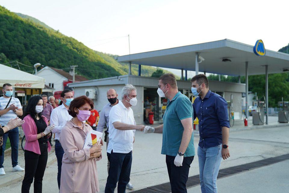 Мицкоски: По 15 јули да ги засукаме ракавите и да ја обновиме Македонија