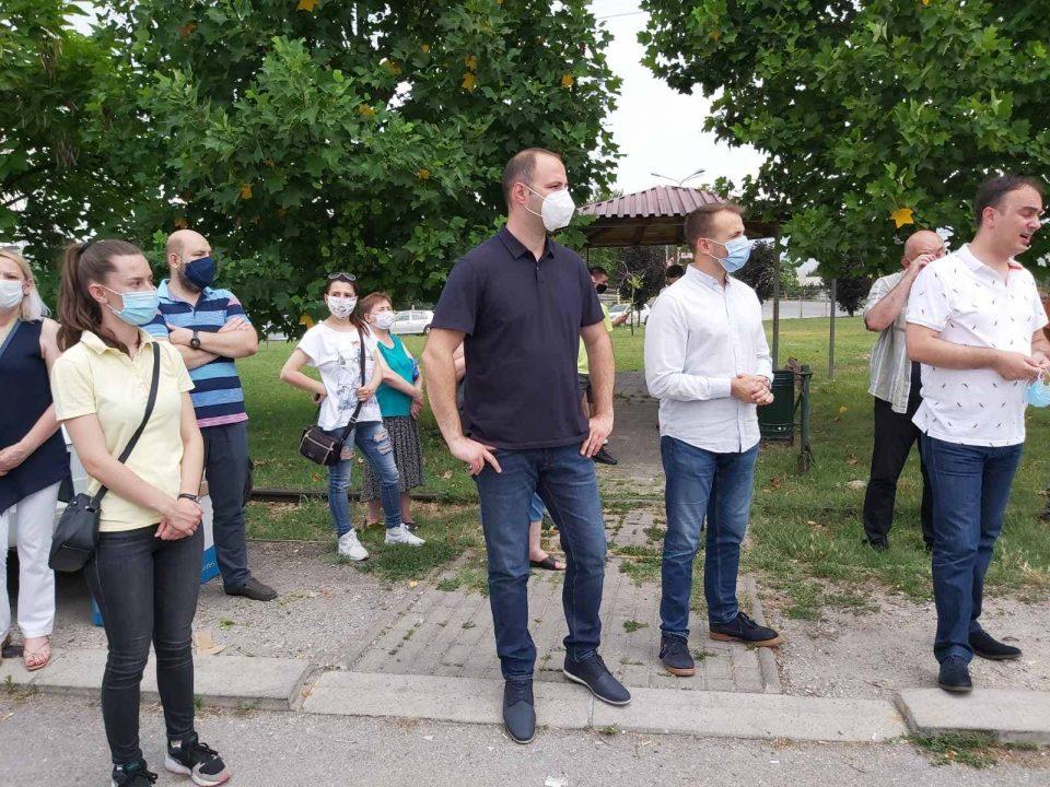 Мисајловски во посета на Хром- на граѓаните им вети Обнова на Македонија која доаѓа по 15 јули