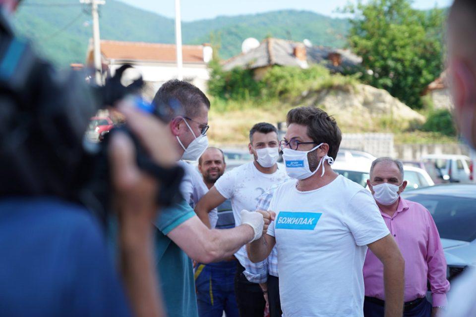 Мицкоски: Македонија мора да оди напред