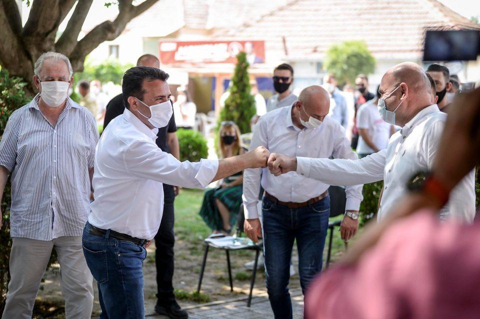 Зоран Заев на средба со граѓаните од Кривогаштани, Могила и Ивањевци