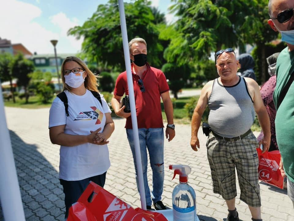 Стојаноска: Ветуваме проекти за подобар живот на сите граѓани