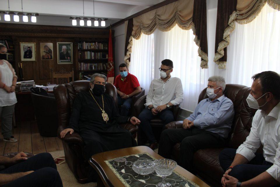 Јанушев и Ѓорги Иванов во посета на Митрополитот Повардарски г. Агатангел