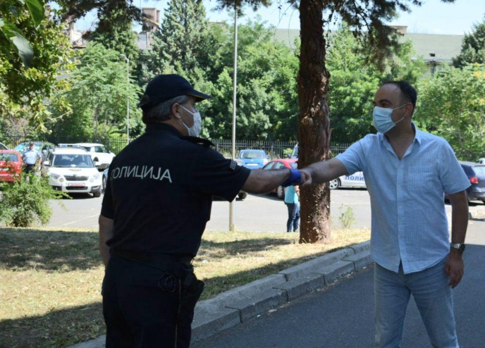 Чулев во работна посета на Струмица, Валандово и Дојран: Граѓаните сите уцени, притисоци и закани да ги пријават во МВР на денот на изборите