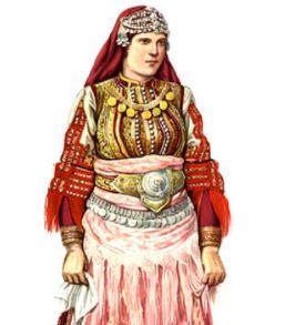 ФОТО: Невестинска мијачка носија од Галичник