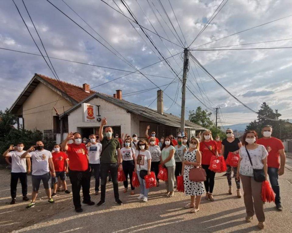 ВМРО-ДПМНЕ најави силна победа и во населбата на Спасовски: Тргната е лавината, нема назад