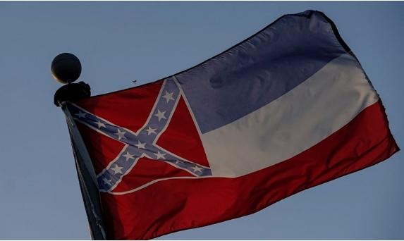 Мисисипи го смени знамето со симболот на конфедератите