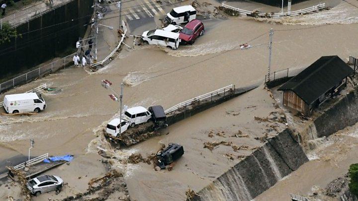 66 жртви од поплавите во Јапонија