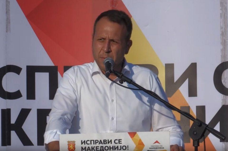 Јанушев од Берово: Заев и СДСМ жестоко ќе паднат, народот е цврсто решен да победи и да се ослободи од тригодишната тортура