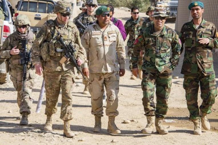 Американските војници се повлекоа од пет бази во Авганистан