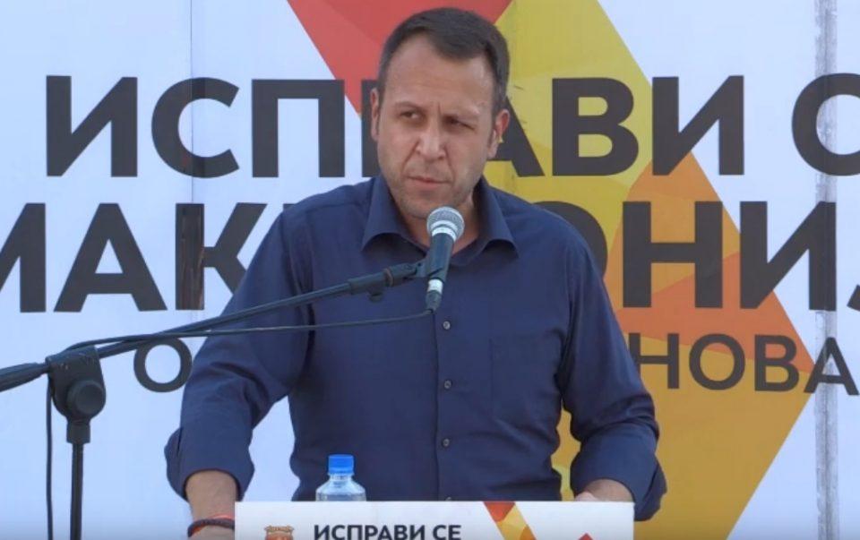Јанушев: Доаѓа крајот на корупцијата и криминалот во државата, следува Обнова на Македонија