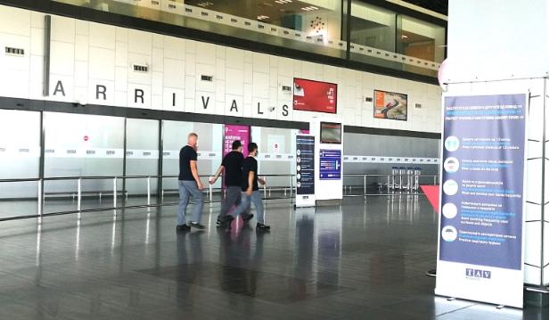 Од денеска повторно патнички летови од аеродромите во Скопје и Охрид