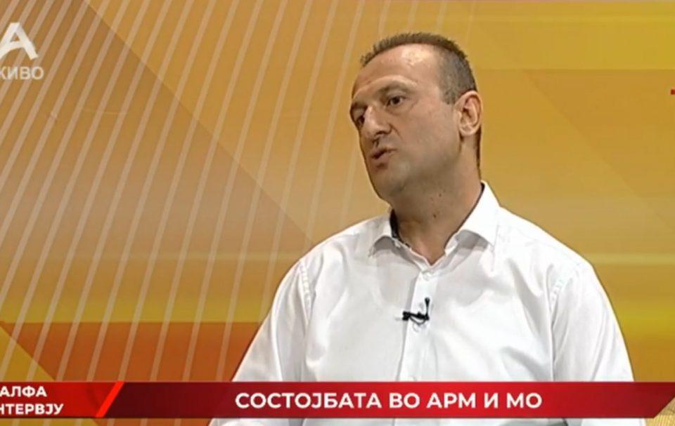 Ајтов: АРМ десеткована, најмалку 29 припадници на АРМ се заболени од Ковид-19