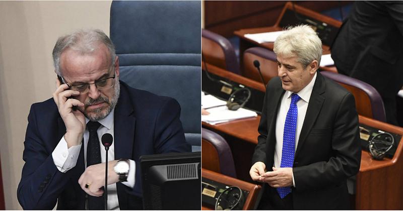 Ахмети и Џафери ги повикаа граѓаните да гласаат за премиер Албанец