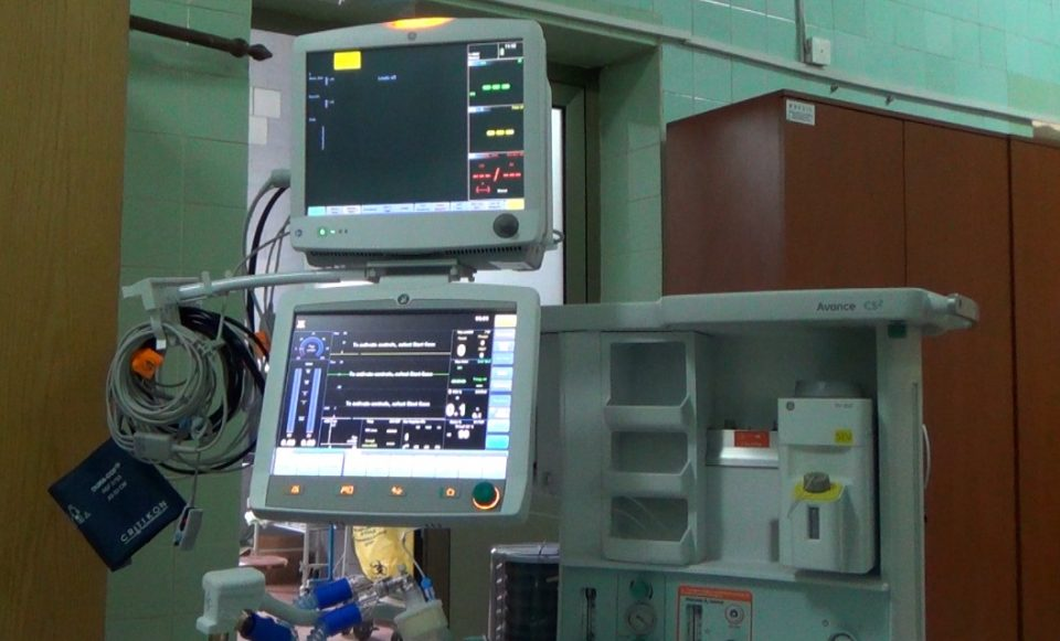 Рудникот САСА донираше апарат за анестезија за болницата во Кочани