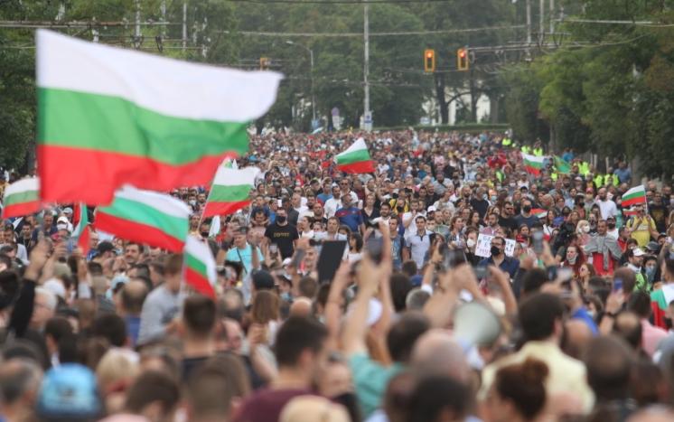 Четврти ден по ред антивладини протести во Бугарија