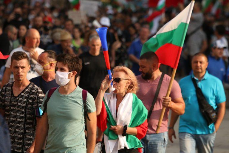 Продолжуваат антивладините протести во Бугарија
