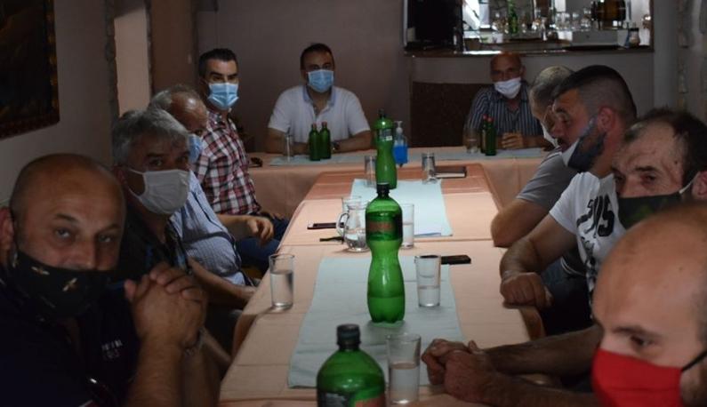 Чулев остварил средба со членови на Здружението на ловци од Охрид