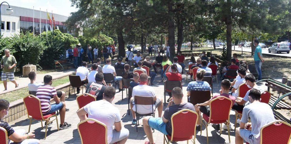 Костовски: Младите од Бутел бараат просперитетна иднина и безбедна општина