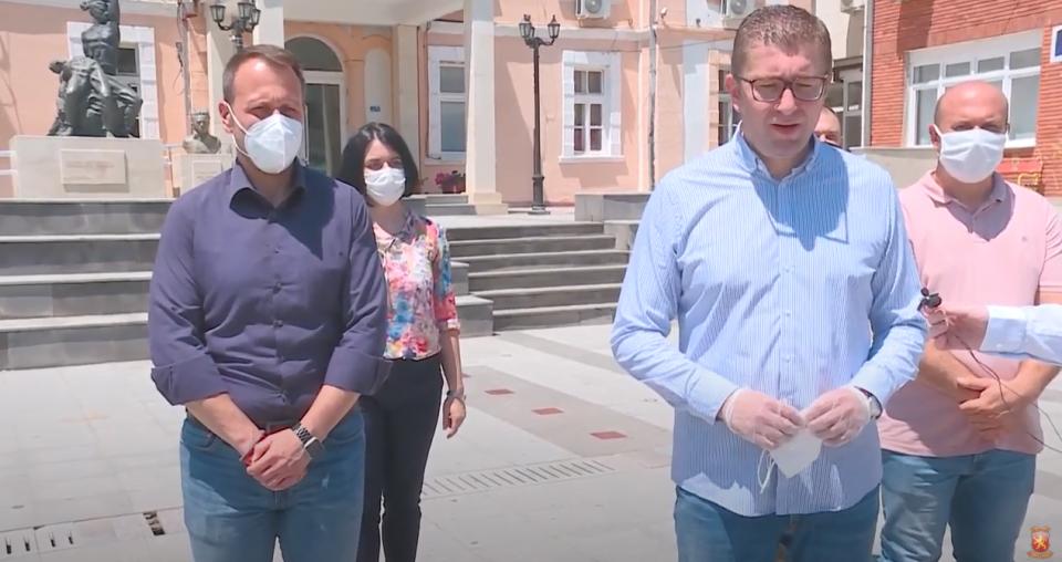 Мицкоски: Завршува времето на Заев, граѓаните на 15 јули ќе изберат Обнова на Македонија