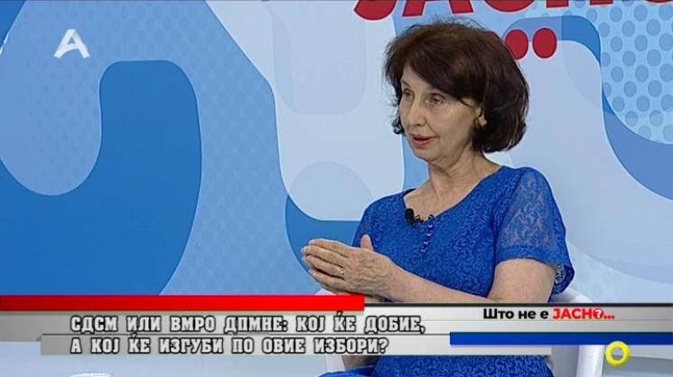 Силјановска Давкова: ВМРО-ДПМНЕ треба да ја состави новата влада, за прв пат имаме човек – демократ претседател на партија