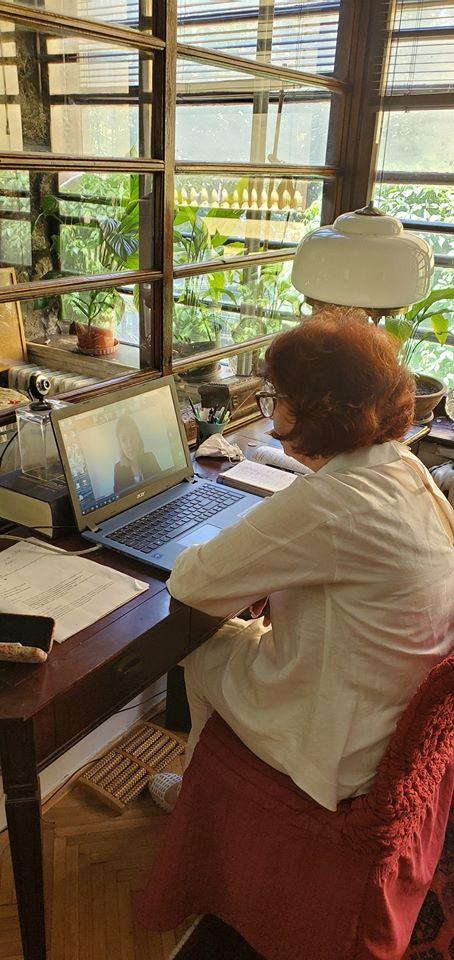 Силјановска на дигитална средба со преставници на мисијата на ОБСЕ за набљудување на изборите