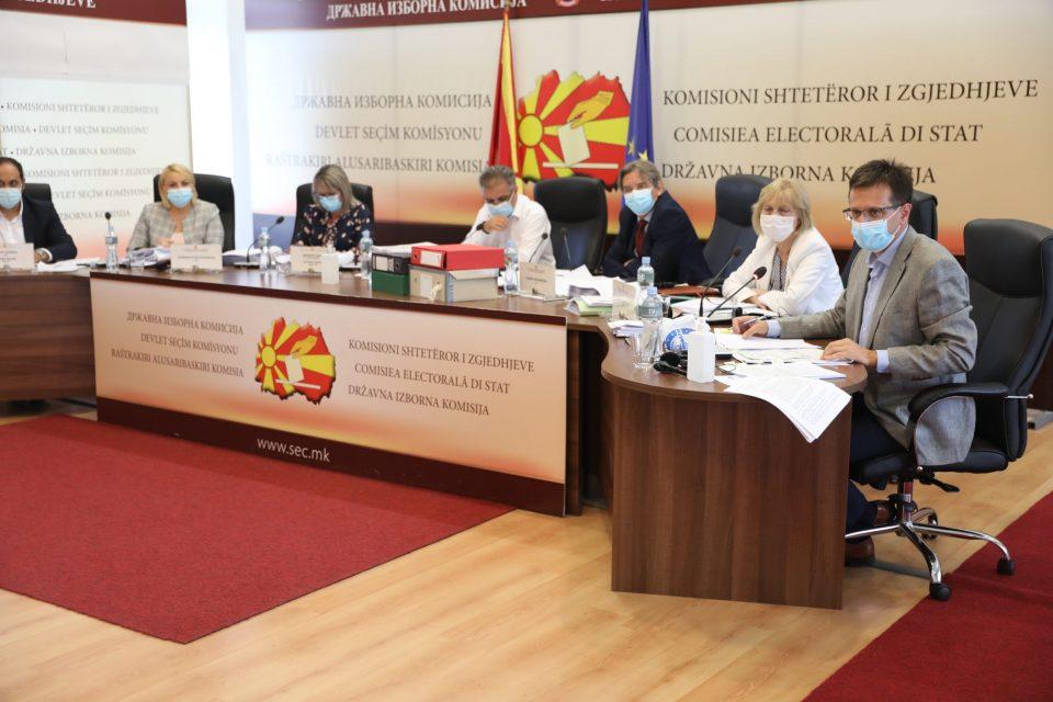 Засега мандатите остануваат исти, партиите имаат право на тужби до Управниот суд за отфрлените приговори на ДИК