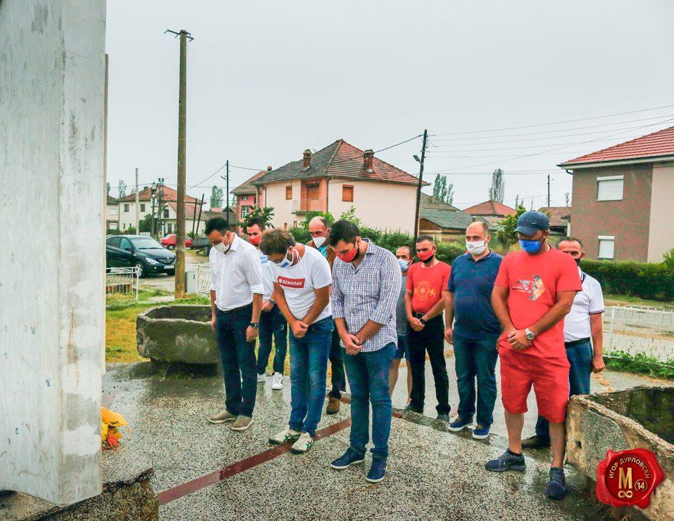 Дурловски: Пред паметниците ветуваме и се заветуваме за чување на светото, на своето, за верноста кон татковината, платена со крв