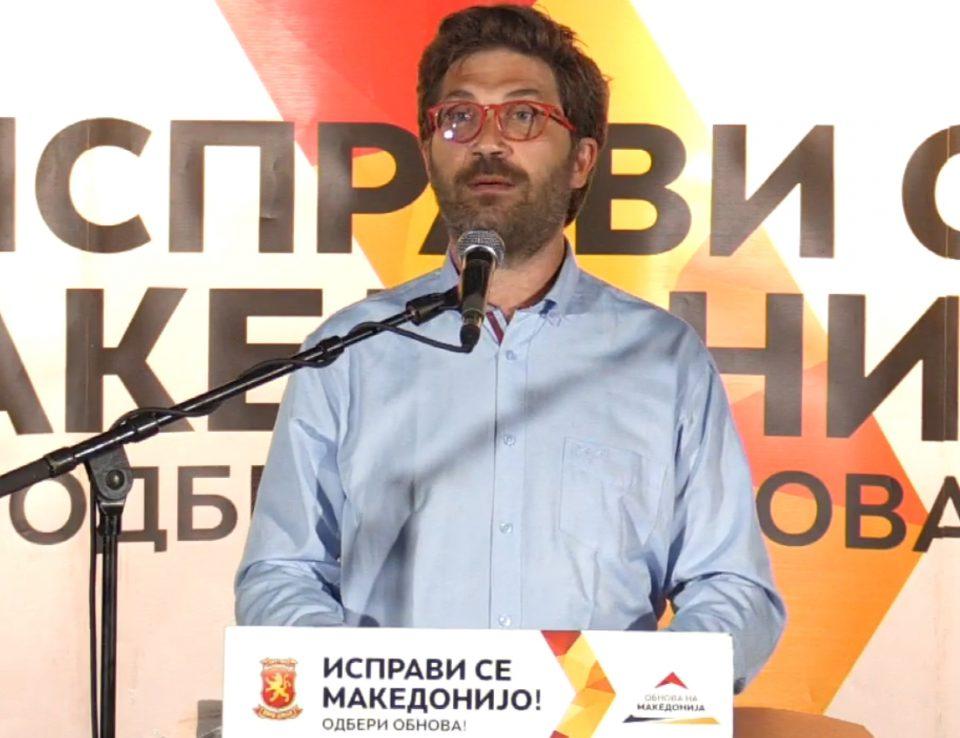 Дурловски: На 15 јули да се спротивставиме на неправдите кои ги гледаме изминатите три години