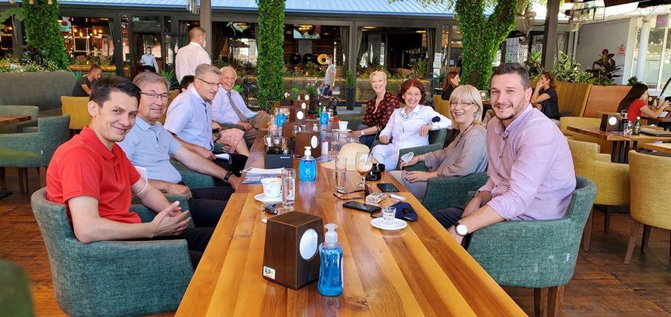 Силјановска на средба со советниците од ВМРО-ДПМНЕ во град Скопје