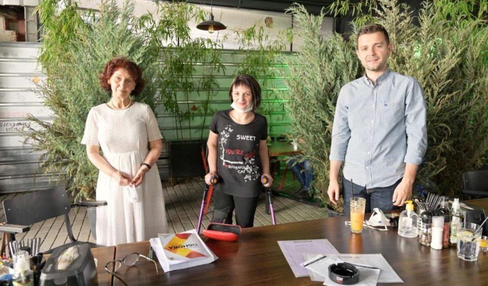 """Силјановска Давкова и Муцунски на средба со претставници на """"Полио Плус""""-движење против хендикеп"""
