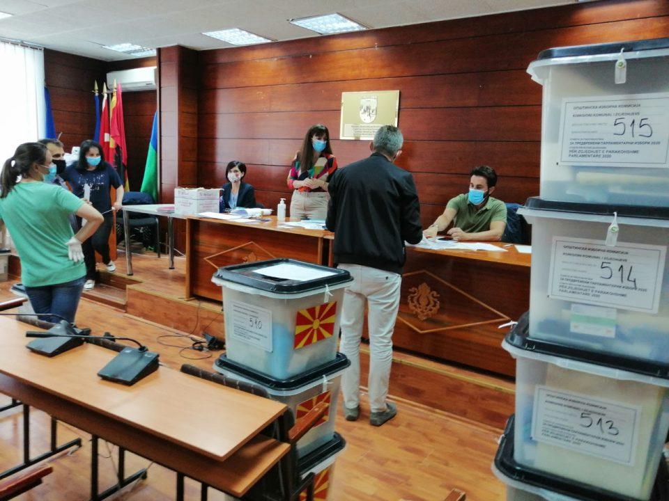 Во Гостивар гласаа заболените од КОВИД-19 и лицата во изолација
