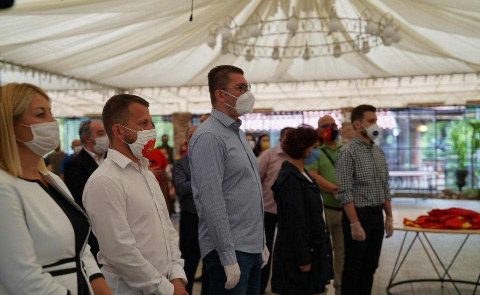 Мицкоски: На 15-ти јули доаѓа Обновата на Македонија и времето кога секој ќе одговара за сторен криминал