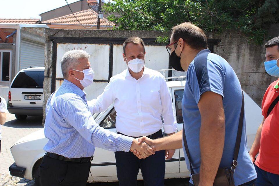 Јанушев заедно со Ѓорѓе Иванов во посета на куќата на Кочо Рацин