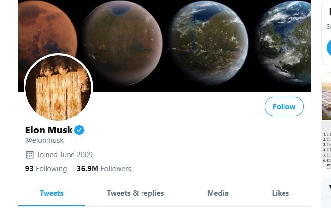 И твитер профилите на Илон Маск, Бил Гејтс и Обама под хакерски напад