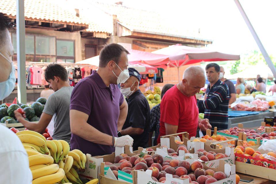 Јанушев во Македонска Каменица: На 15 јули доаѓа нова ера за Македонија