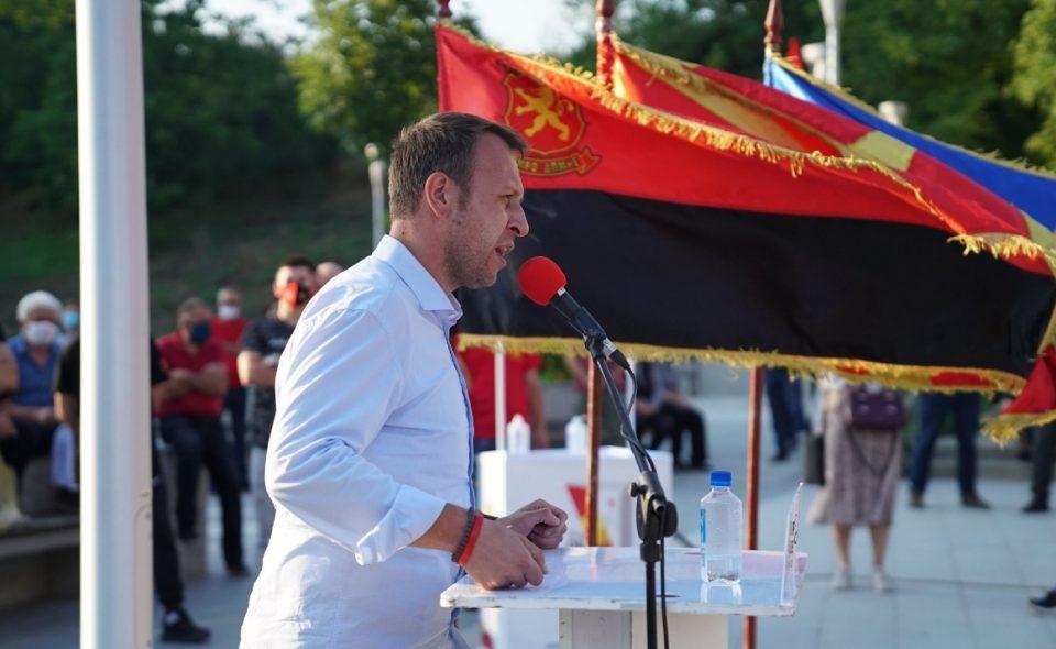 Јанушев: По големата победа на 15-ти јули ќе работиме интензивно и напорно за враќање на македонското национално достоинство, тоа е нашиот аманет!