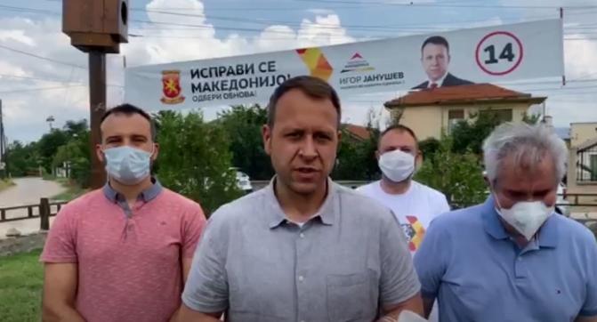 Јанушев од Чешиново-Облешево: Љупчо Николовски наместо за земјоделците се грижи за личните интереси
