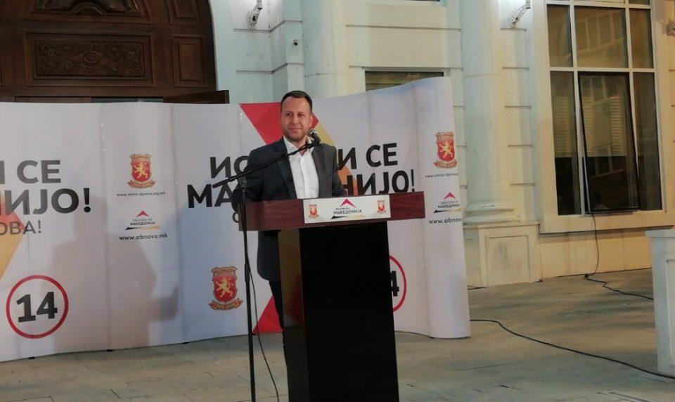 Јанушев: Народот избра обнова, влегуваме во трка за составување на нова влада