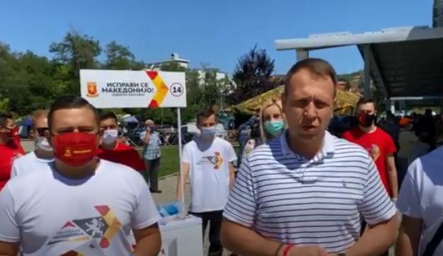 Јанушев: СДСМ ништо не сработи за овие две ипол години, доказ за тоа е несработениот пат Крупиште – Пробиштип