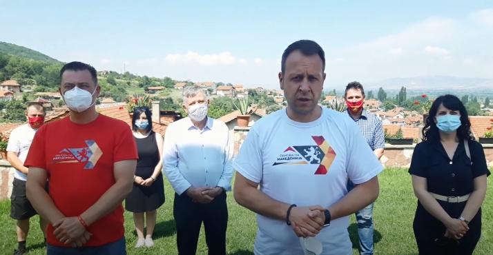 Јанушев од Зрновци:На 15 јули да ставиме крај на оваа власт која пали коли и уништува животи, да дадеме шанса на обновата