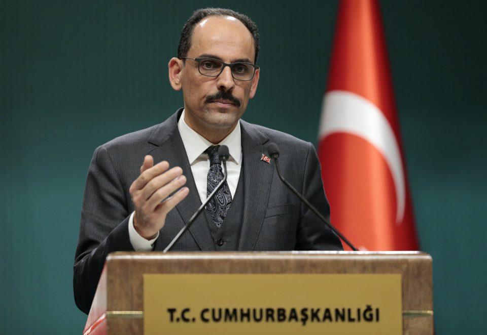Калин: Турција ги прекинува ископувањата во источниот Медитеран
