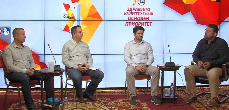 Комисија за здравство на ВМРО-ДПМНЕ: Младите лекари, здравство базирано на потребите на пациентите, здравствена инфраструктура и вложување во човечкиот капитал ќе биде фокусот на обновата