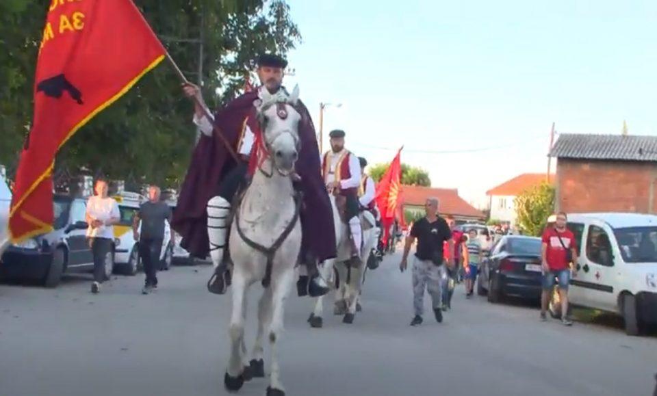 Здружение Илинденски Коњички Марш: Најостро ги осудуваме лагите и клеветите дека наши членови нападнале крушевчанец